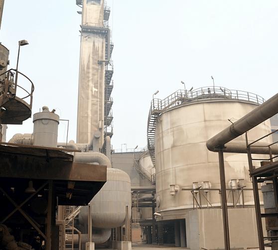 iron steel factory