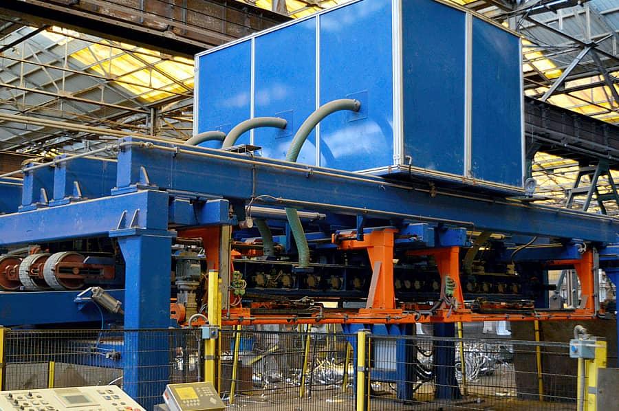 copper machine