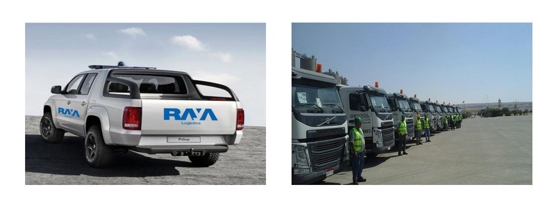 RAYA Logistics Capabilities Fleet